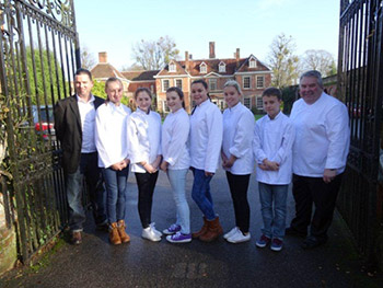 Junior Chef Academy participants