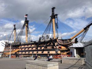 Broadside Intervention Trip – Portsmouth Historic Dockyard
