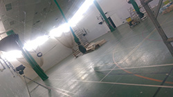 Sports Hall in Progress 1