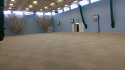Sports Hall in Progress 2