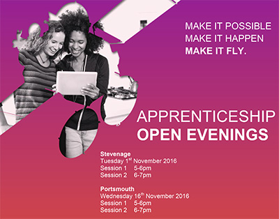 Apprentice Open Evening