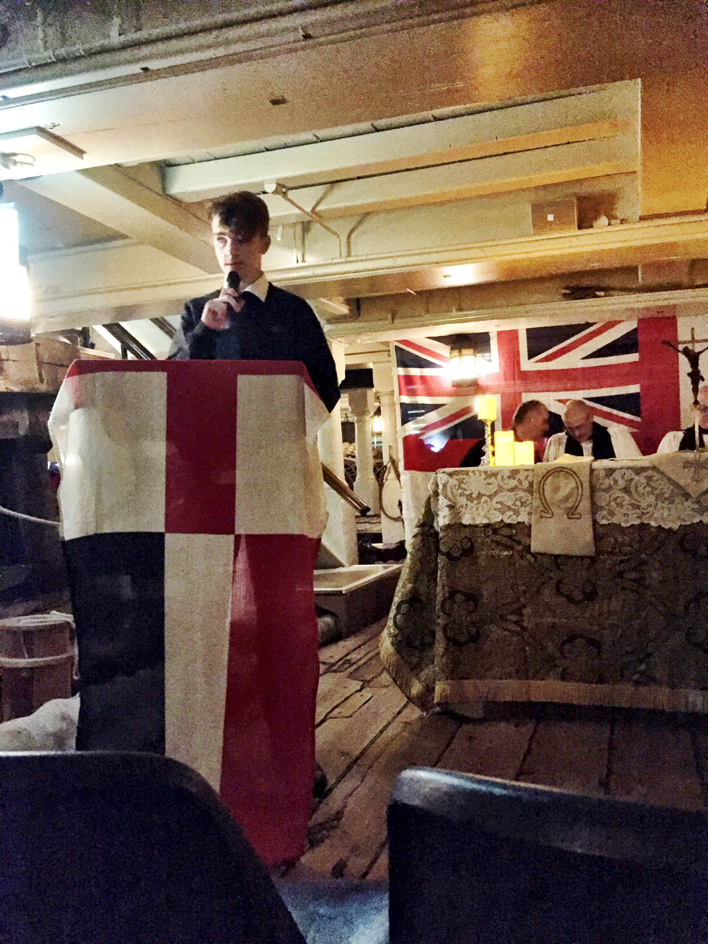 HMS Victory Carol Service 1
