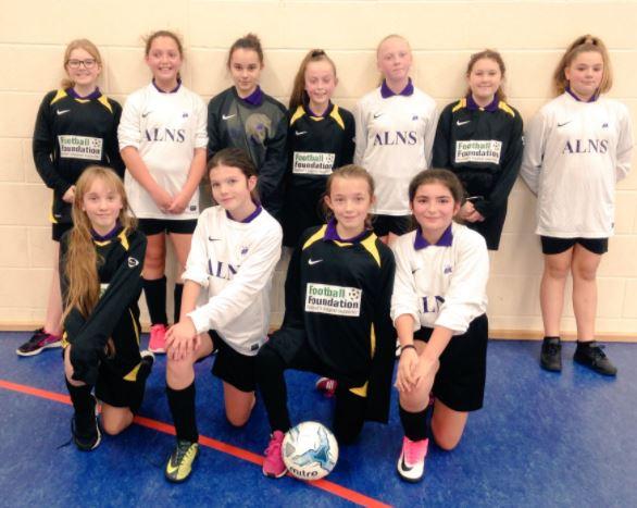 Year 7 Girls Football Success 1