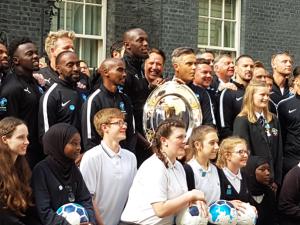 ALNS visit No.10 Downing Street!