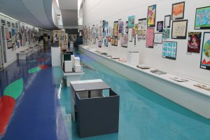 GCSE Art, Textiles and Graphics Exhibition