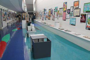 GCSE Art, Textiles and Graphics Exhibition