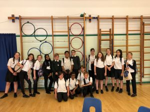 Year 7 Challenge Club Visit Copnor Primary School