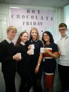 Hot Chocolate Friday – 14th September 2018