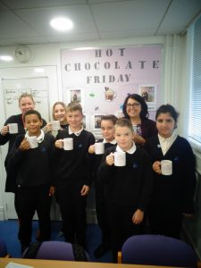 Hot Chocolate with the Headteacher – 19th October 2018