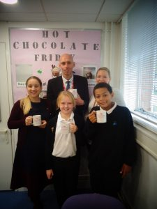 Hot Chocolate with the Headteacher – Friday 9th November 2018