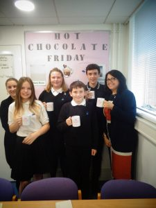 Hot Chocolate with the Headteacher – Friday 16th November 2018
