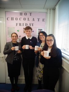 Hot Chocolate with Headteacher – 23rd November 2018