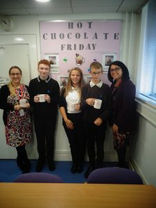 Hot Chocolate with the Headteacher – 2nd November 2018