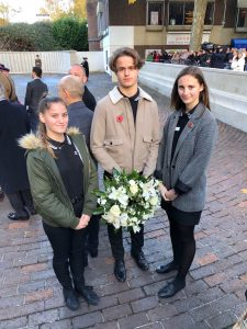 ALNS students attend the Portsmouth Remembrance Service – Sunday 11th November 2018