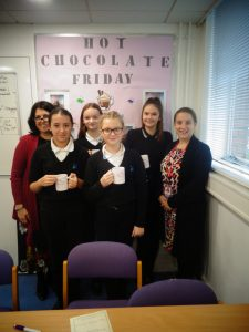Hot Chocolate with Headteacher – 7th December 2018
