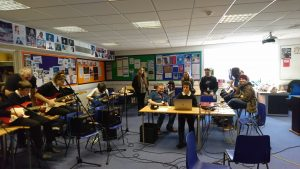 Portsmouth College's 'Studio 101' work with ALNS students