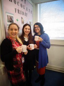 Hot Chocolate Friday – 15th February 2019