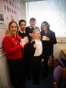 Hot Chocolate with the Headteacher – 1st March 2019