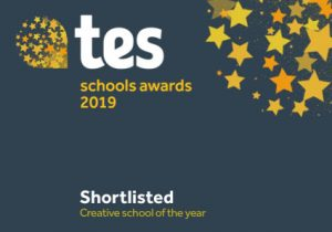 We have been shortlisted for two TES awards!