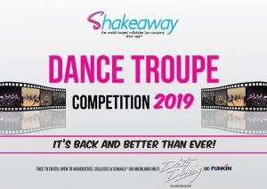 Vote for us in the Shakeaway Dance Troupe competition!
