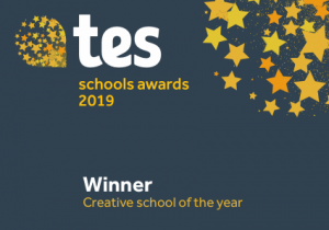 Admiral Lord Nelson School takes Creative school of the year at the prestigious Tes Schools Awards 2019