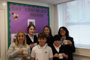 Hot Chocolate with the Headteacher 25th October 2019