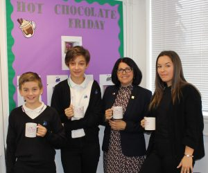 Hot Chocolate with the Headteacher – 8th November 2019