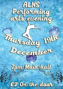 ALNS Performing arts evening