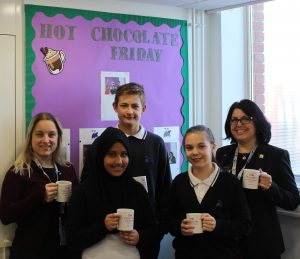 Hot Chocolate with the Headteacher 10th January 2020
