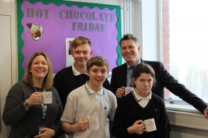 Hot Chocolate with the Headteacher 17th January 2020
