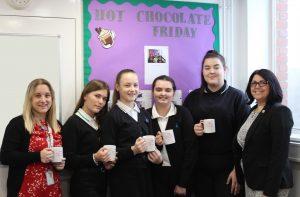 Hot Chocolate with the Headteacher 24th January 2020