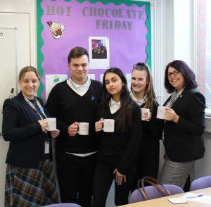 Hot Chocolate with the Headteacher – 14th February 2020