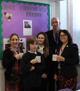 Hot Chocolate with the Headteacher 7th February 2020