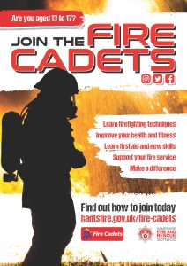 Fire Cadets coming to a Fire Station near you