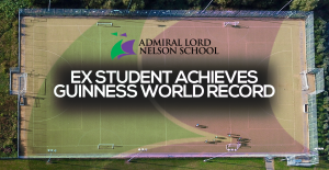 Ex-Student achieves a Guinness World Record!
