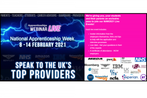 Apprenticeships Webinar LIVE