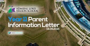 Year 11 Parent Information Letter: 14.05.2021