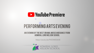 Performing Arts Evening to Premiere on YouTube