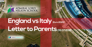England Vs Italy – Euro 2020 Final – Letter to Parents
