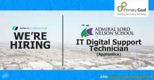IT Digital Support Technician Apprentice