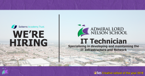 IT Technician – Specialising in developing and maintaining the IT Infrastructure and Network