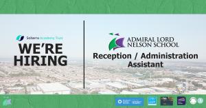 Reception / Administration Assistant – Job Vacancy